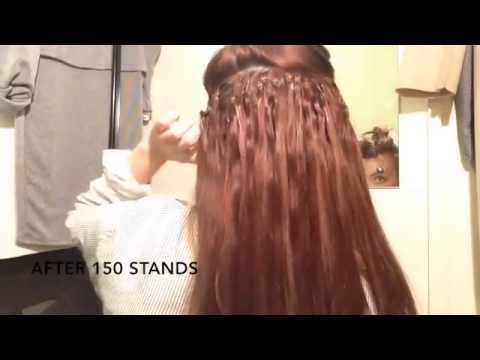 Hair extensions and clip in hair video guides and how to micro ring extensions how to fit them pmusecretfo Gallery