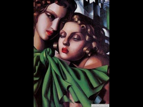 Тамара Де Лемпицка картины. Прекрасная рафаэлла. Tamara de Lempicka