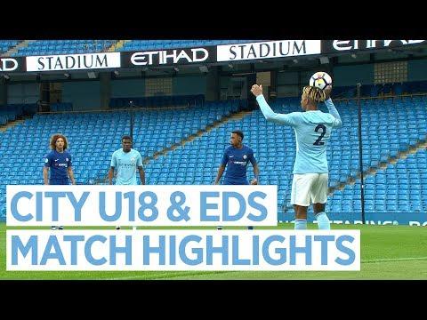 Video: City U18S v Newcastle & EDS v Chelsea | MATCH HIGHLIGHTS