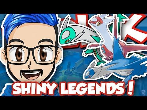 HUNTING SHINY LEGENDS!! / Pokemon Brick Bronze / RussoPlays