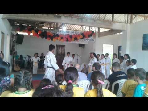 Apresentação do karat em Maraial -pe projeto nova Maraial