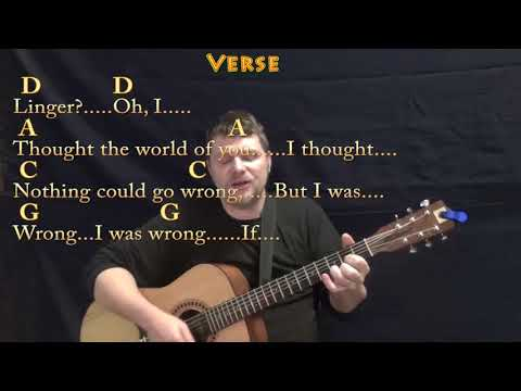 Linger (The Cranberries) Guitar Cover Lesson with Chords/Lyrics - Munson