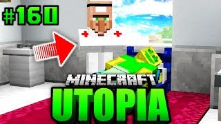 Video TOTKRANK beim NOTARZT?! - Minecraft Utopia #160 [Deutsch/HD] MP3, 3GP, MP4, WEBM, AVI, FLV April 2018