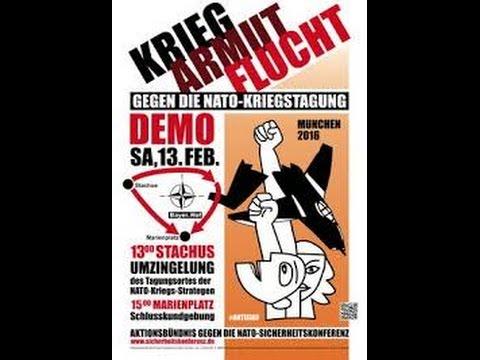 Gegen die NATO-Kriegstagung, 13.Februar 2016 in München