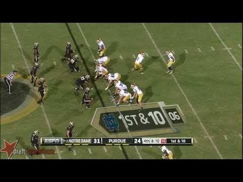 Bruce Gaston vs Notre Dame 2013 video.