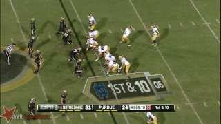Bruce Gaston vs Notre Dame (2013)