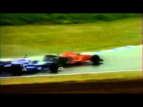 formula 1 1996 - michael schumacher vince il gp di spagna