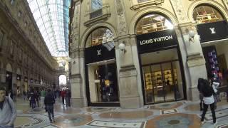 Ser modelo por un día en la Galería Vittorio Emanuele de Milán