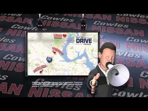 30 Second Commercial for Cowles Nissan of Woodbridge, VA.  Editing by: Chris O'Brien VO: Chris O'Brien