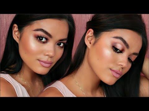 Fresh & Glowy Spring Makeup | MimiBeauty