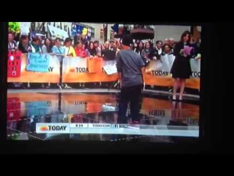 """Clip from """"show us your moves"""" NBC's Today Show, Jase Butler"""