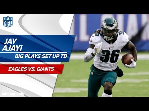 Video: Big Plays by Jay Ajayi Set Up Nick Foles' 4th TD Pass! | Eagles vs. Giants | NFL Wk 15 Highlights