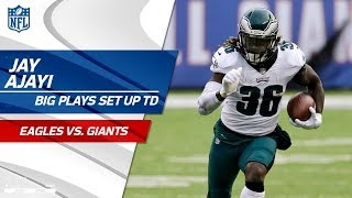 Big Plays by Jay Ajayi Set Up Nick Foles' 4th TD Pass! | Eagles vs. Giants | NFL Wk 15 Highlights
