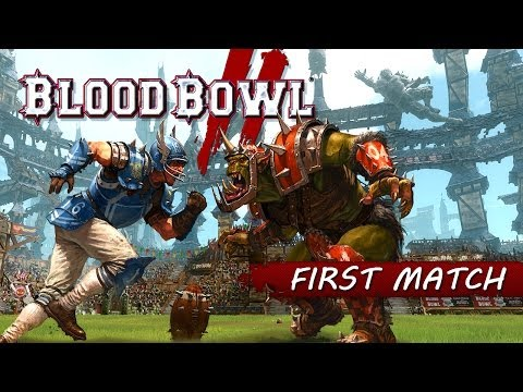 Website: http://www.bloodbowl-game.com/ Facebook: https://www.facebook.com/bloodbowlgame Twitter: https://twitter.com/BloodBowl_Game Devblog: http://bloodbowlgame.tumblr.com/  Orcs and Humans compete in the very first match of Blood Bowl 2!  Blood Bowl 2,
