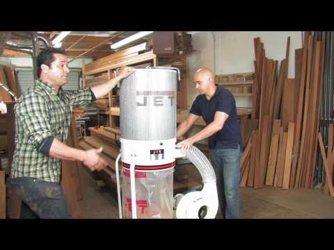 Jet Vortex Dust Collector: Casters