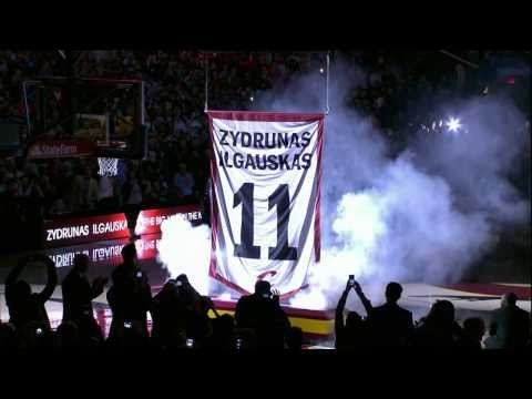 Video: Zydrunas Ilgauskas' Jersey Retired by the Cavaliers