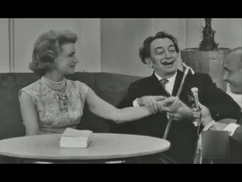 1966 Entrevista a Salvador Dali - Ballet Dali Barcelona Paco Rabanne - Dali Interview