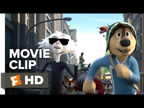 Rock Dog Movie CLIP - The Chase (2017) - Luke Wilson Movie (видео)