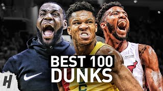 BEST 100 Dunks & Posterizes of the 2019 NBA Regular Season