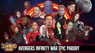 Video AVENGERS INFINITY WAR - Epic Parody Movie - The Sean Ward Show MP3, 3GP, MP4, WEBM, AVI, FLV September 2018