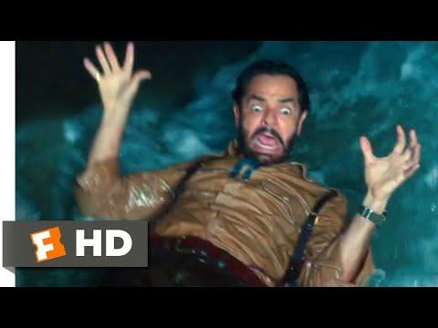 Dora and the Lost City of Gold (2019) - Sluice Gate Slide Scene (5/10) | Movieclips