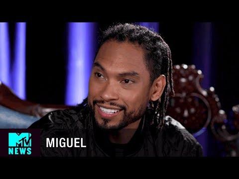 (FULL INTERVIEW) Miguel on 'War & Leisure', Victoria Secret Fashion Show & More | MTV News