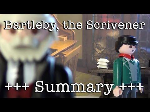 herman melville bartleby the scrivener summary