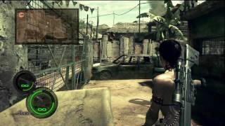 Resident Evil 5 - Professional Mode Online Co-Op Playthrough - Part 1