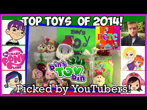 Hottest Toys of 2014! Top Picks by YouTubers! My Little Pony, LPS, Disney + More!