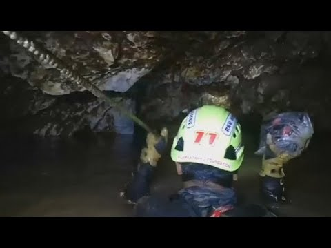 Thai cave rescue diver: 'I feel very relieved today'