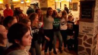 Зубренок, зима 2015, кафе «Лидо» (видео №3)