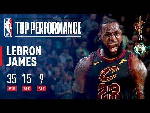 LeBron James' DOMINANT GAME 7 Performance!