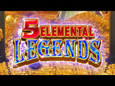 5 Elemental Legends Slot Game