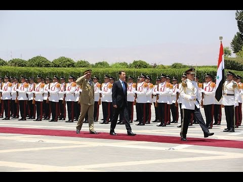Bashar Assad - President #Bashar al-#Assad #sworn in for a new term, addresses Syrians in milestone #speech at People's Palace in the Qassioun Mountain * Damascus, SANA --...
