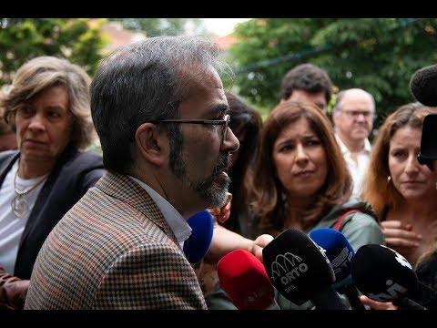 Declarações de Paulo Rangel, eurodeputado do PSD e vice-presidente do PPE, na Sede PSD Porto