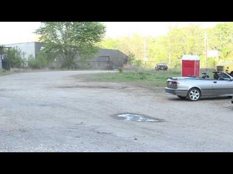Mercedes convertible prototype (видео)