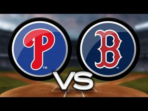 Video: 5/27/13: Red Sox tally 15 hits to top Phillies