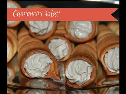 cannoncini salati - ricetta