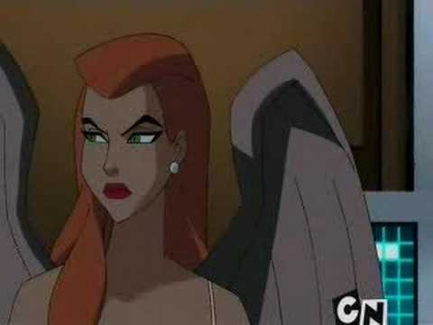 Batman advises Hawkgirl