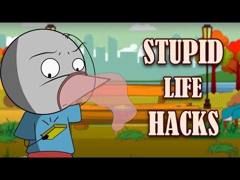 STUPID FOREIGN LIFE HACKS | Angry Prash