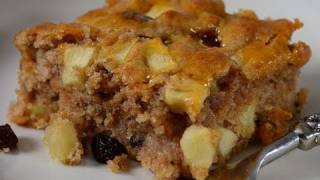 Apple Cake Recipe Demonstration - Joyofbaking.com