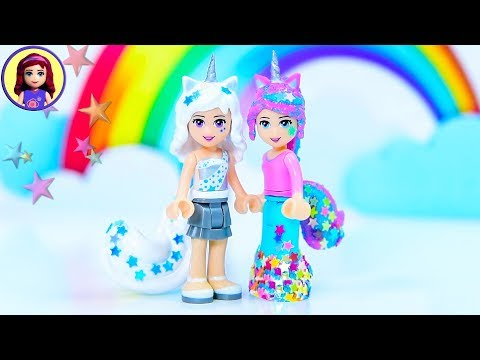 Making a Unicorn Minidoll - Custom Lego Craft DIY Tutorial
