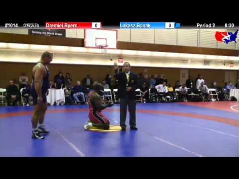 NYAC 120 KG / 264.5 lbs: Dremiel Byers vs. Lukasz Banak