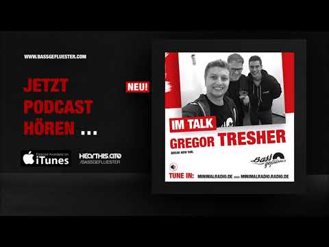 Techno Podcast: Gregor Tresher (Break New Soil) beim Bassgeflüster