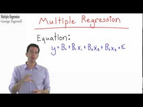 Stats 35   Multiple Regression