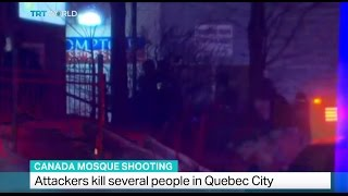 Quebec City mosque attack: Six dead and eight injured