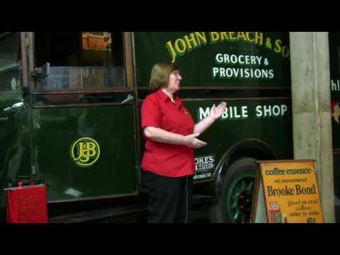 1933 Morris Mobile Grocery Shop