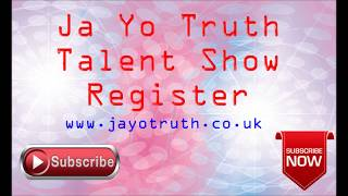Ja Yo Truth talent is for every one try to register please share https://youtu.be/AkEksnQ8pPo.