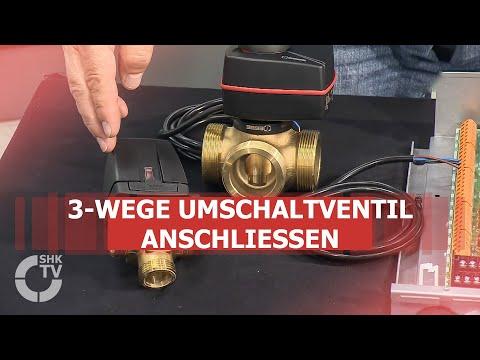 Mitsubishi Electric: Aufbau und Anschluss des 3-Wege Umschaltventil USV 32