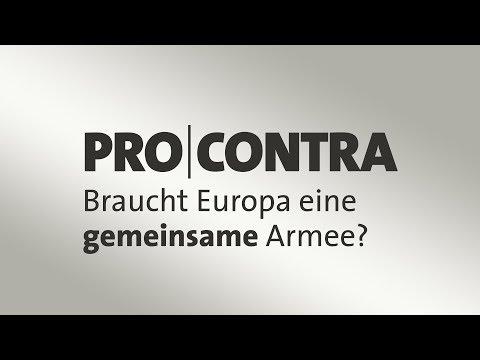 Merkel fordert europäische Armee - Pro und Contra